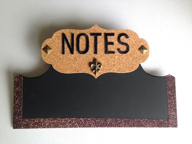wine cork note board backer