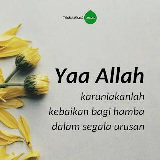 kata islam penyejuk hati doa kebaikan dalam urusan