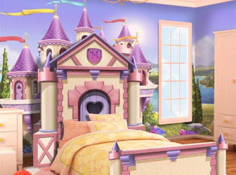 Habitación infantil de princesa