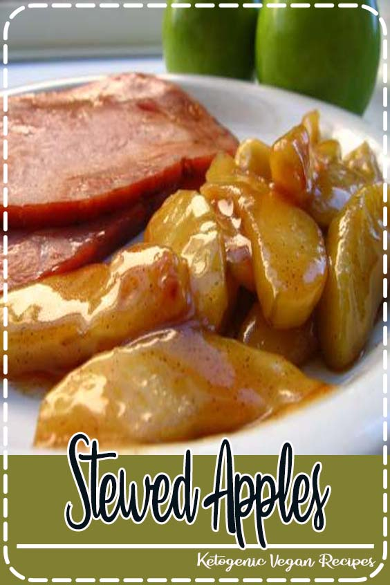 Stewed apples make a delicious breakfast but can also be served with dessert Stewed Apples