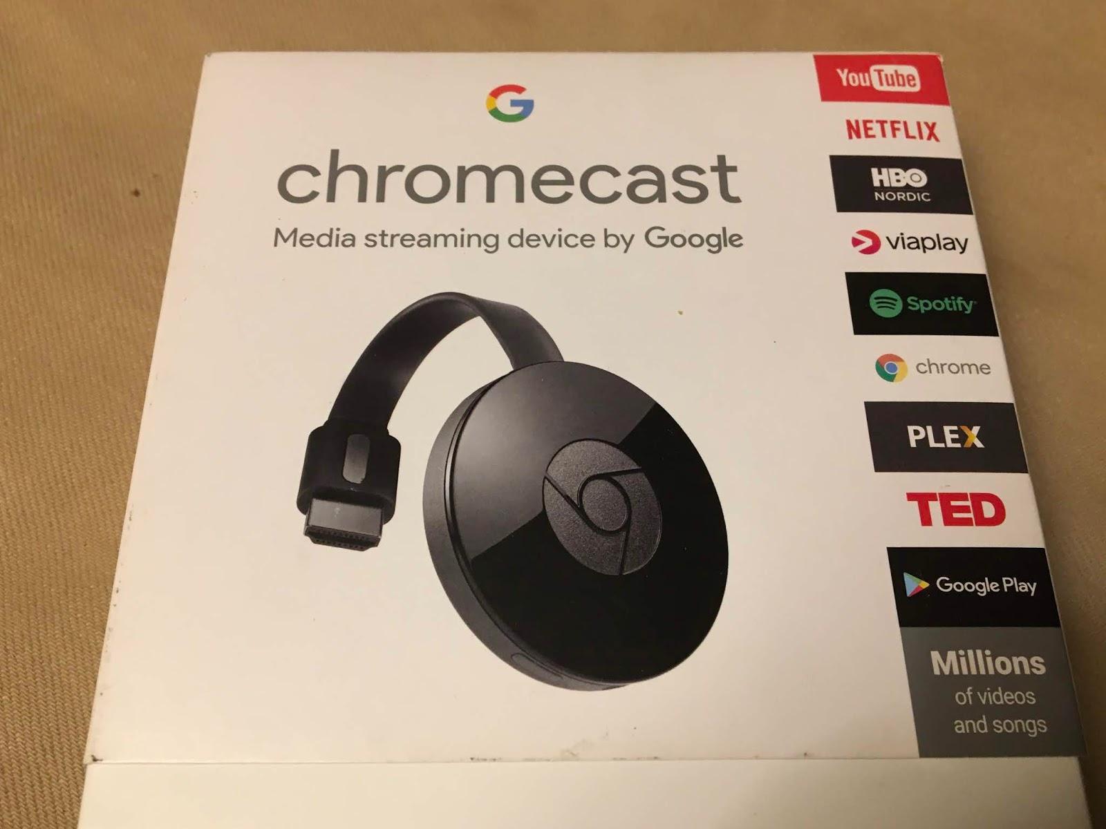 Chromecast Ilman Wifiä