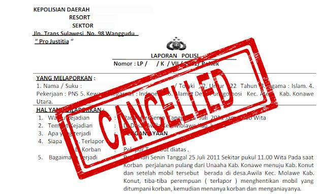 Prosedur Dan Contoh Surat Permohonan Pencabutan Laporan Perkara Pidana Di Kepolisian Bangdidav Com