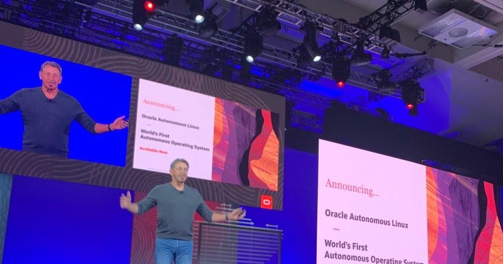 World's First Autonomous Operating System - Oracle Autonomous Linux