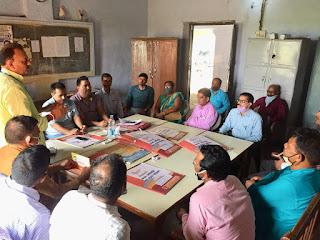 जौनपुर के शाहगंज में एमएलसी प्रत्याशी रमेश सिंह ने किया तूफानी दौरा | #NayaSaberaNetwork