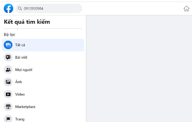 Cách tìm facebook qua số điện thoại