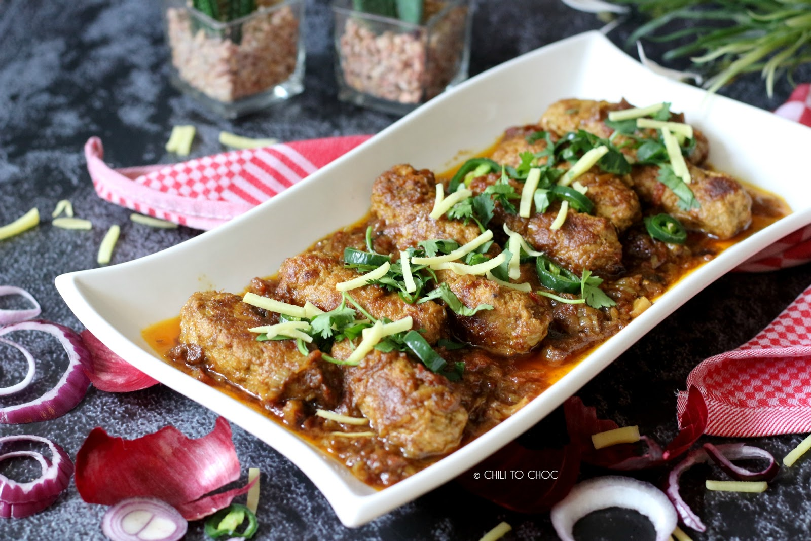 Seekh Kebab Masala (Beef Kebab Curry)