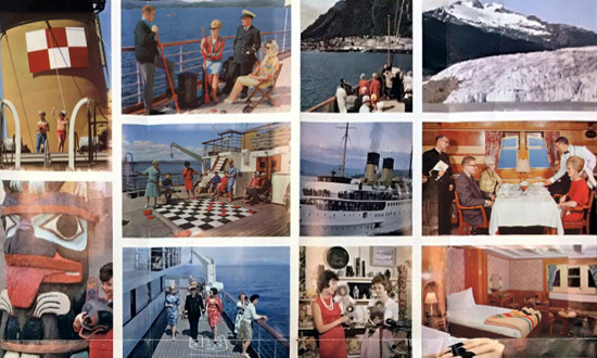 Canadian Pacific Princess Cruises brochure 1965