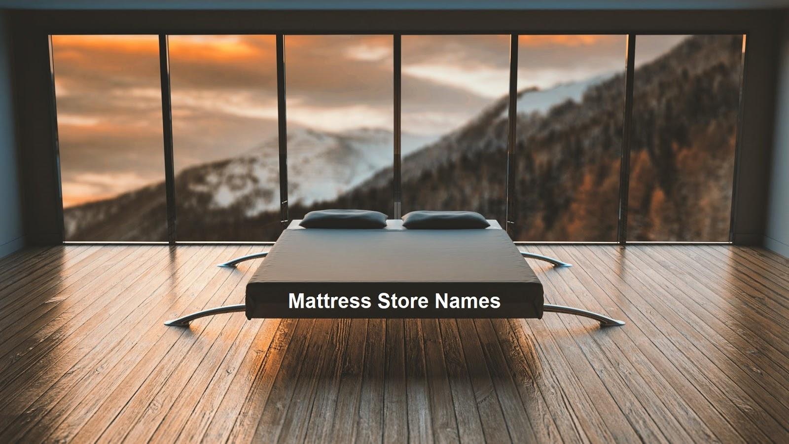 200+ Best Mattress Store Names [New Ideas]