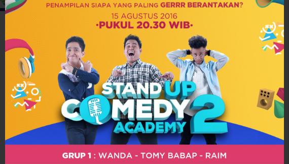 Peserta Stand Up Comedy Academy 2 yang Gantung Mik Tgl 15 Agustus 2016