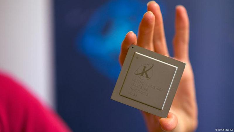 Шведский процессор для добычи биткоинов