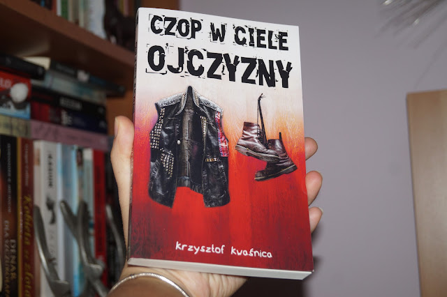"""Czop w ciele ojczyzny"""" Krzysztof Kwaśnica [PATRONAT MEDIALNY]"""