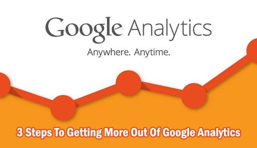3 Steps To Getting More Out Of Google Analytics ~ Sociable360.com | #SocialMedia #Marketing #WebDesign.