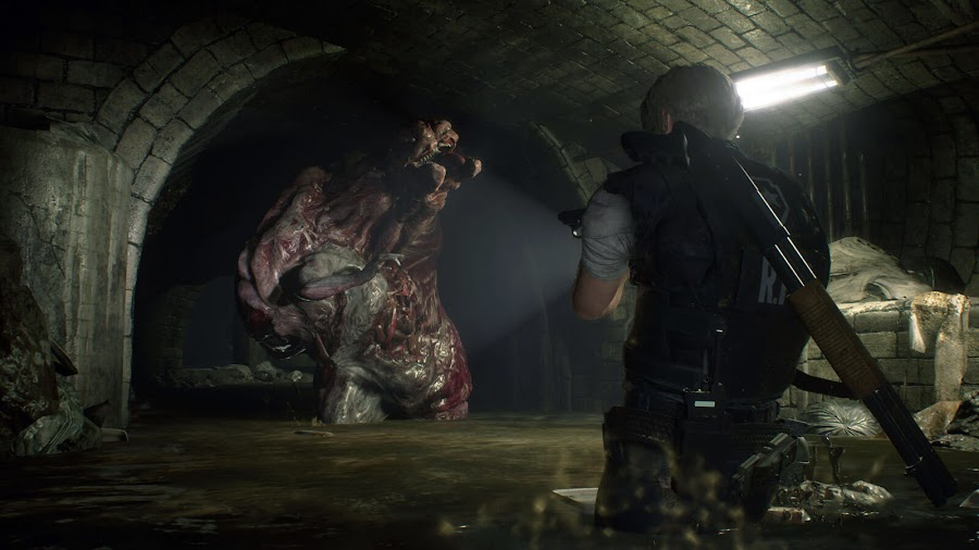 resident evil 2 remake leon kennedy screens 6