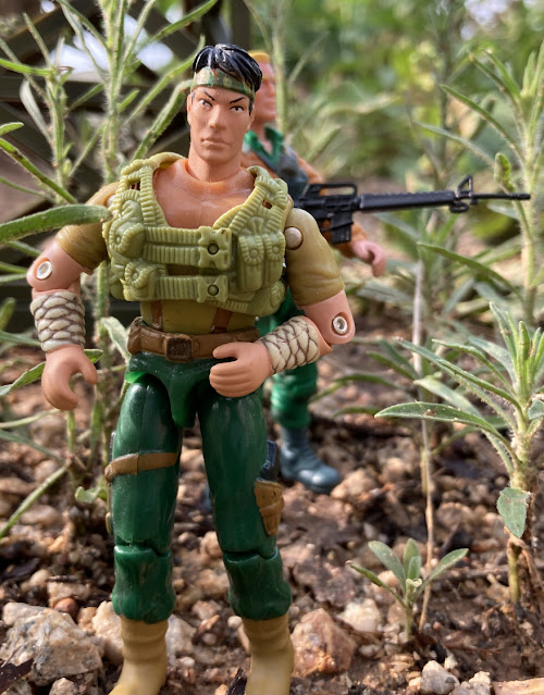2006 Tommy Arashikage, Storm Shadow, Comic Pack #26, DTC, 1988 Sgt. Slaughter, 1994 Action Soldier