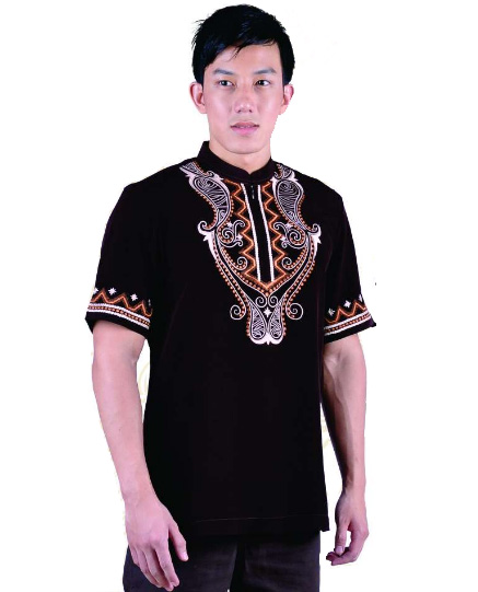 Jual EXCLUSIVE Baju Koko Nibras Murah Nibras NSK 46 Hitam