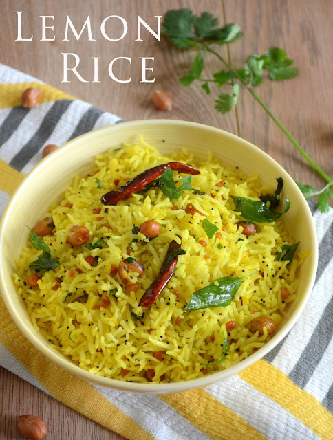 Lemon Rice | Easy Lunch Recipe | How To Make Lemon Rice