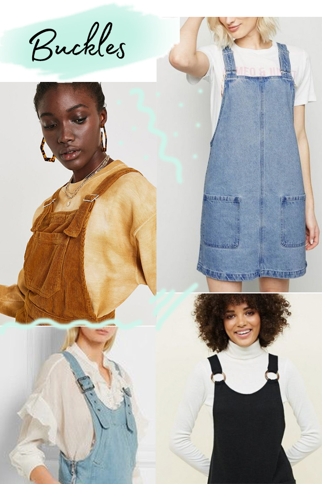10 strap ideas for the Cleo dress - buckles