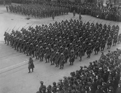 Αμερικανοί στρατιώτες εν έτει 1919 / American soldiers in 1919
