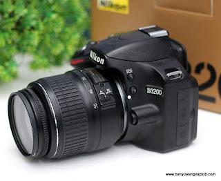 Jual Kamera Nikon D3200 Fullset - Banyuwangi
