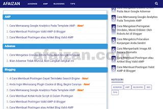 Cara Mudah Membuat Daftar isi (Sitemap) Blog Keren