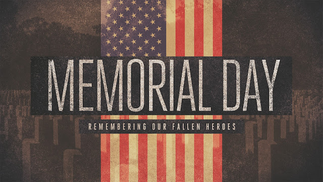 Memorial Day Retro Wallpaper