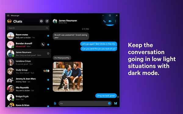 messenger desktop windows 10 MacOS