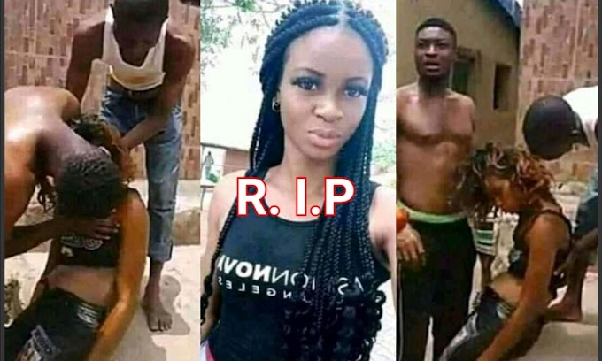 Lady kills herself through suicide over boyfriend having s**X with her Best friend (Watch Video)