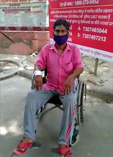 खपरहां के राजनाथ ने जीती कोरोना से जंग | #NayaSaberaNetwork