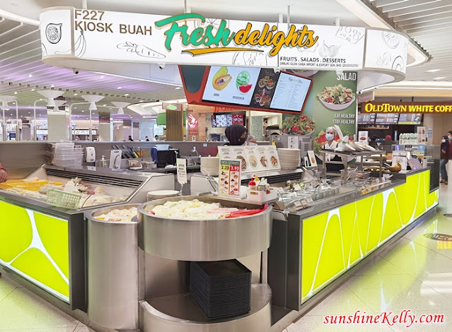 Signature Food Court, Suria KLCC, Warung Prima, Eatomo, Fresh Delights, Yong Tau Foo, Nasi Lemak Kunyit, Salted Egg Sotong Kunyit, Food Review, Food