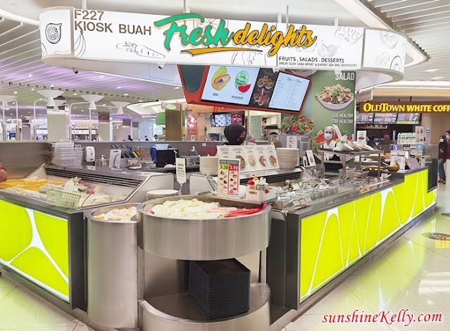 Signature Food Court, Suria KLCC, Warung Prima, Eatomo, Fresh Delights, Yong Tau Foo, Nasi Lemak Kunyit, Salted Egg Sotong Kunyit, Food Review, Food