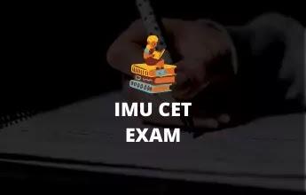 IMU CET exam pattern