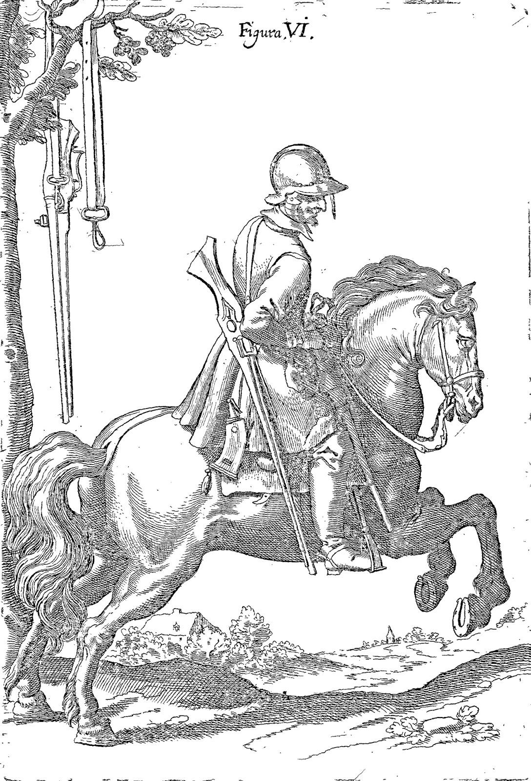 Tercios de Flandes: Arcabucero a caballo