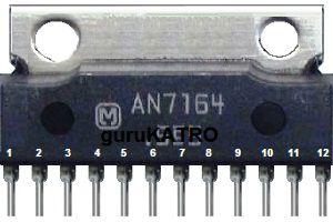 AN7164 Amplifier 12V  dengan output 30W
