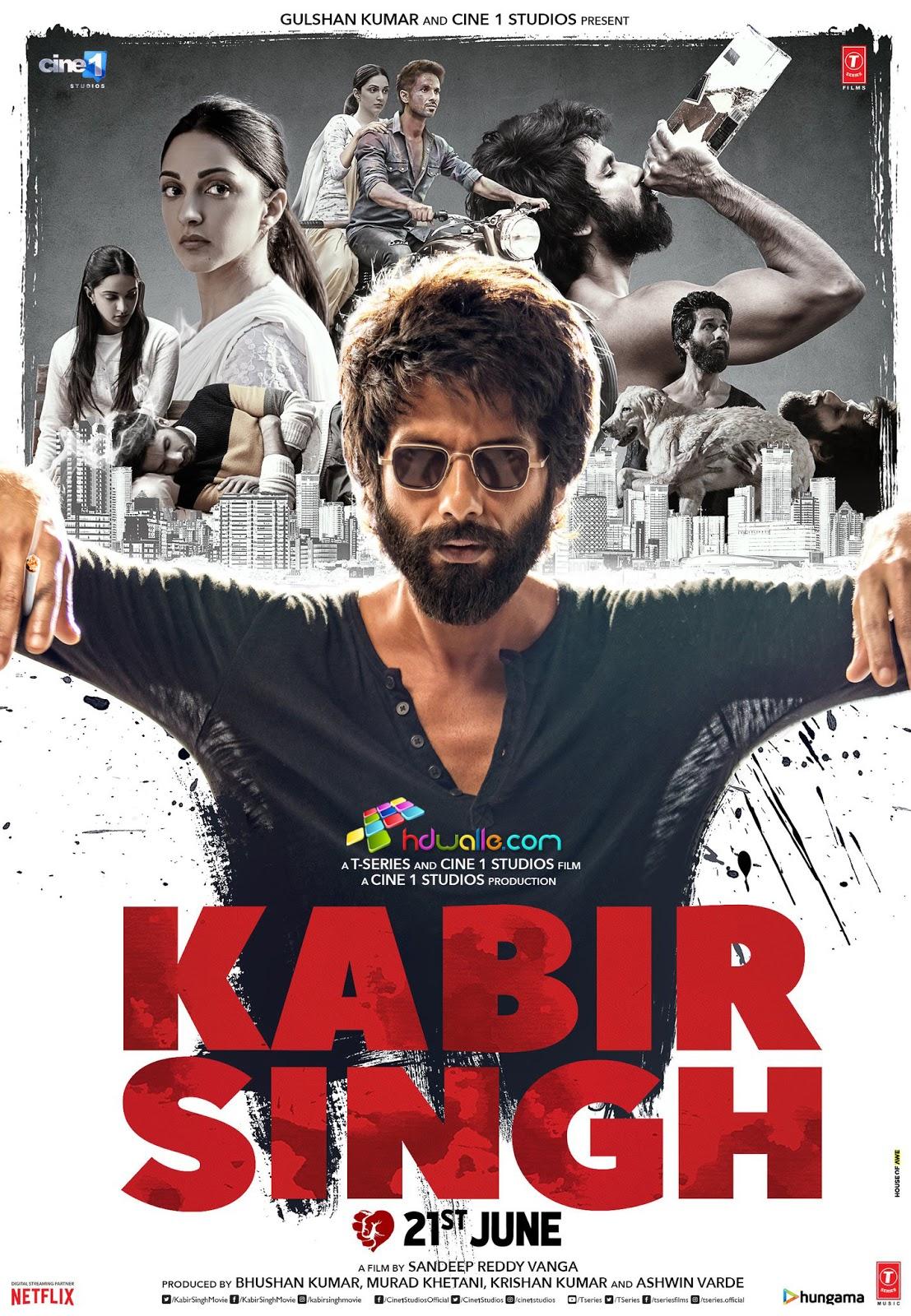 Kabir Singh HD Mp3 Songs 2019