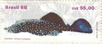 Selo peixe cascudo