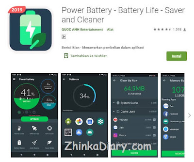 Power Battery - Battery Life - Saver and Cleaner