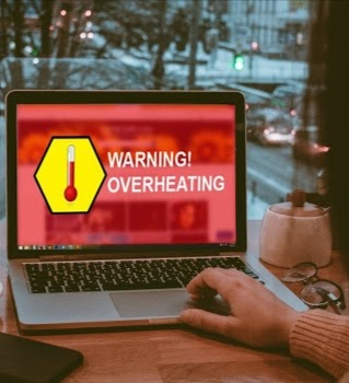 Peringatan Overheat di laptop