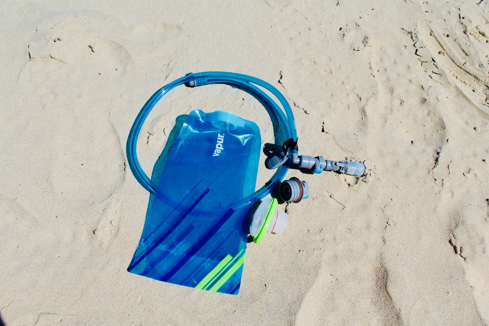 Vapur Wide Mouth 1L Collapsible Water Bottle and DrinkLink Hydration System