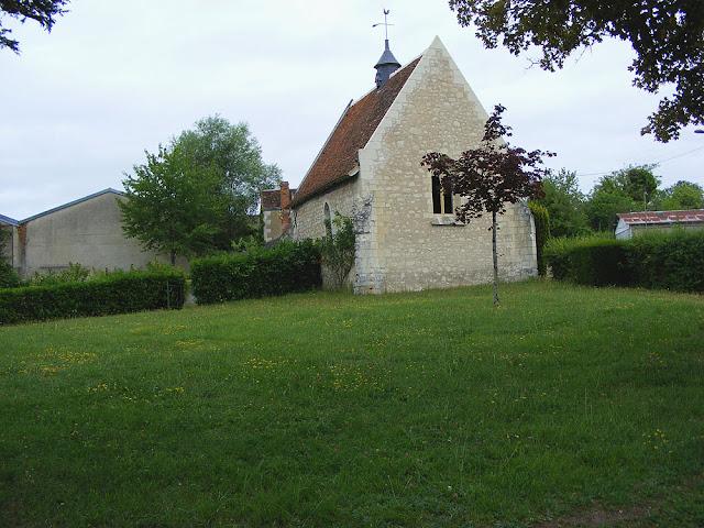 Chapelle de Tous les Saints, Preuilly sur Claise. Indre et Loire. France. Photo by Susan Walter.