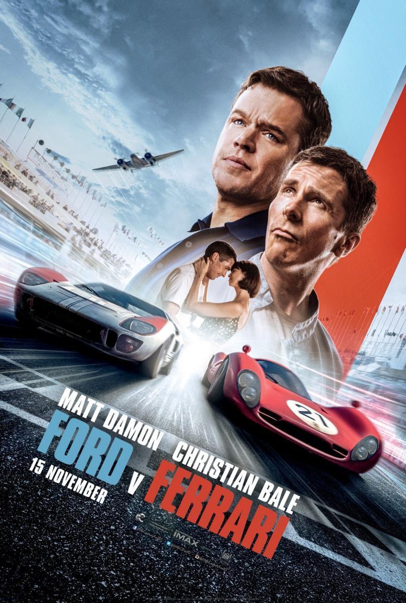 Download Ford v Ferrari (2019) Full Movie in Hindi Dual Audio BluRay 1080p [2.8GB]