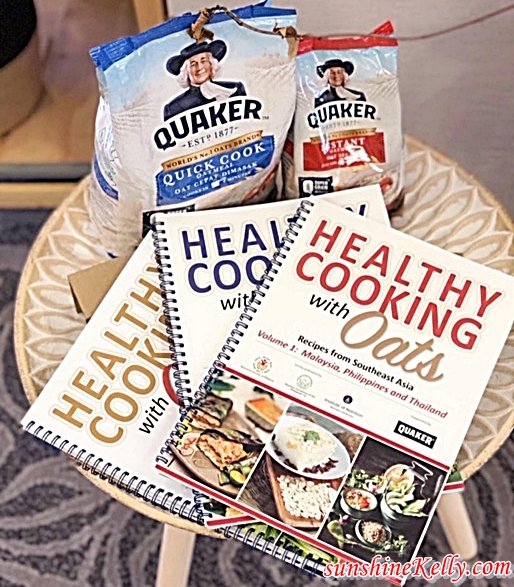 Cook Book, Healthy Cooking Book, Quaker, Quaker Oats, Oats, Heart-Healthy Lifestyle, Quaker Smart Heart Challenge, Quaker Malaysia