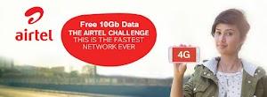 (Official) Airtel Free Data Offer-10GB 4G Data For All   offer 2019