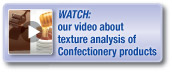 Confectionery testing video