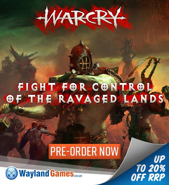 Wayland Games: New Age of Sigmar Warcry Skirmish Game Pre-Order Launched!