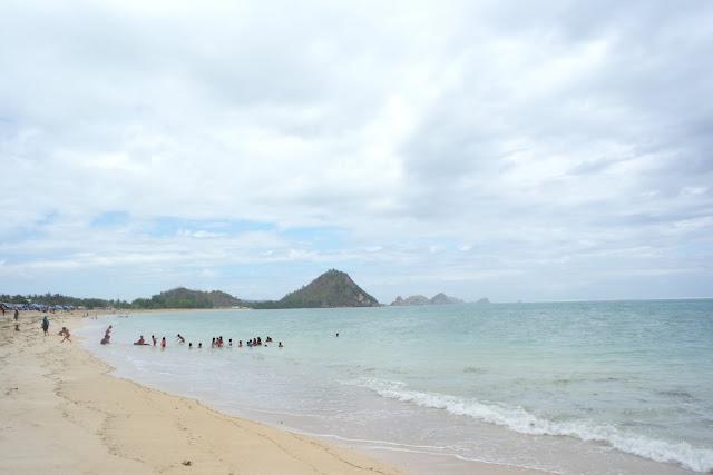 pantai kuta lombok NTB