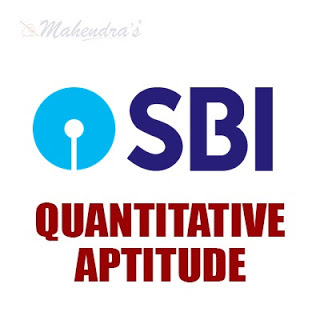 Quantitative Aptitude Questions For SBI Clerk : 28 - 05 - 18