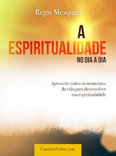 Livro sobre como desenvolver passo a passo a sua espiritualidade. Livro A Espiritualidade no Dia a Dia