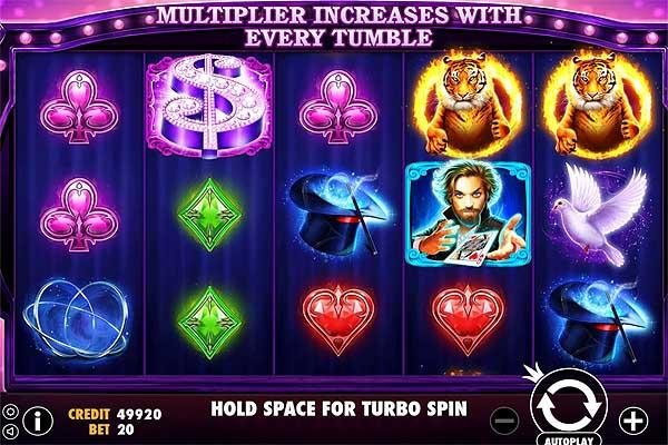 Main Gratis Slot Indonesia - Vegas Magic (Pragmatic Play)