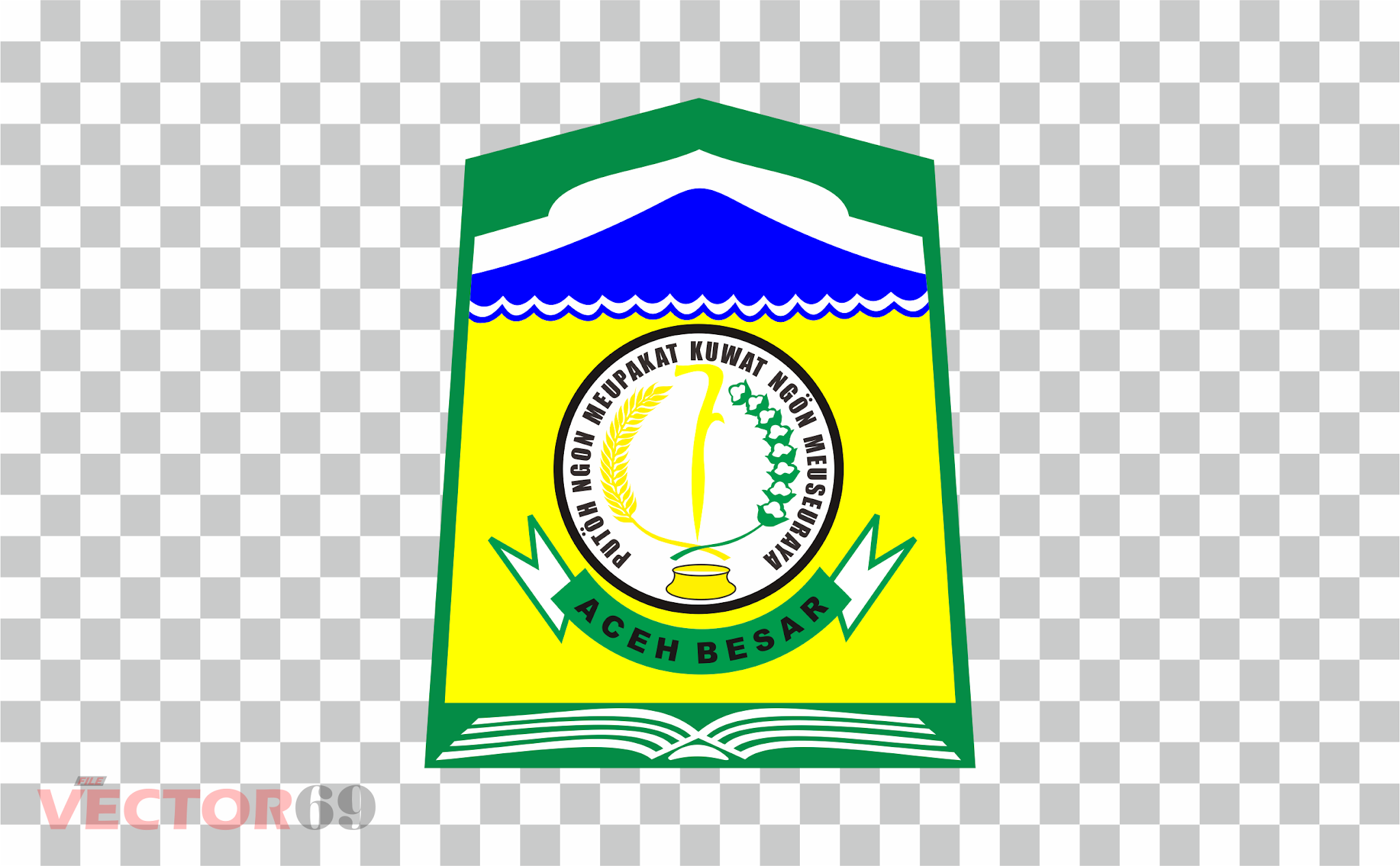 Kabupaten Aceh Besar Logo - Download Vector File PNG (Portable Network Graphics)