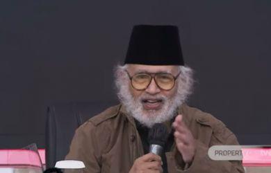 Prof Salim Said Jelaskan Letak Kesalahan Fatal Seorang Jokowi Hadapi Kelompok Islam